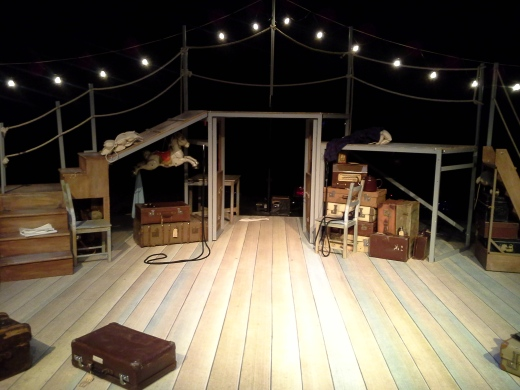 The set of Lifeboat in the Ogstoun Theatre